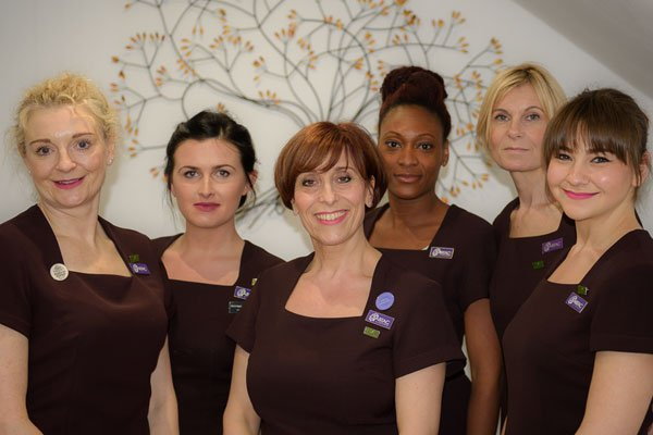 Beauty Courses in surrey - the team at Omni